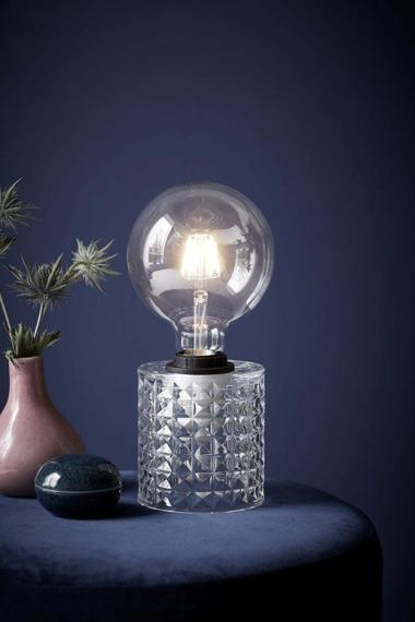 Nordlux Hollywood 46645000 Szklana Lampa stołowa