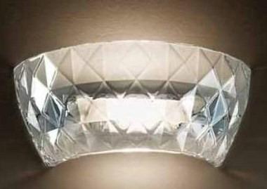 ATELIER P Lampa Ścienna Kryształowa Leucos