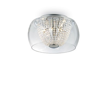 AUDI-61 PL8 133904 Lampa sufitowa Ideal Lux chrom