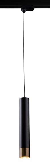 Amplex Eido 0350 Zwis do szyny czarny