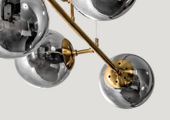 Azzardo Helios AZ4699 Złoty Żyrandol