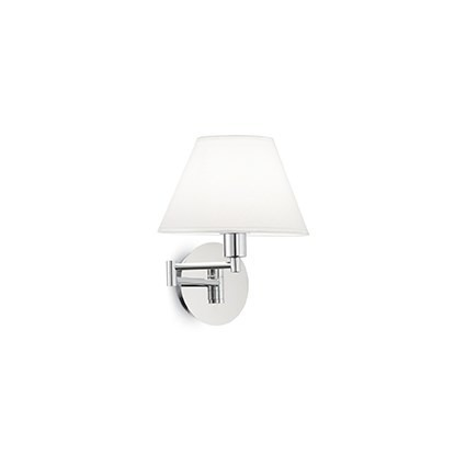 BEVERLY AP1 126784 Lampa ścienna Ideal Lux chrom