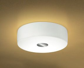 BISQUIT PL1 biała Lampa Sufitowa Leucos