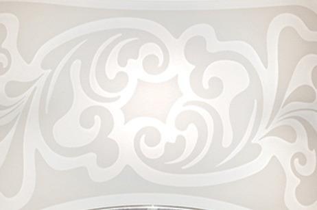 CHARME PL 35 Lamap Sufitowa biała Leucos 35 cm