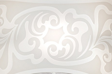 CHARME PL 50 Lamap Sufitowa biała 50 cm Leucos