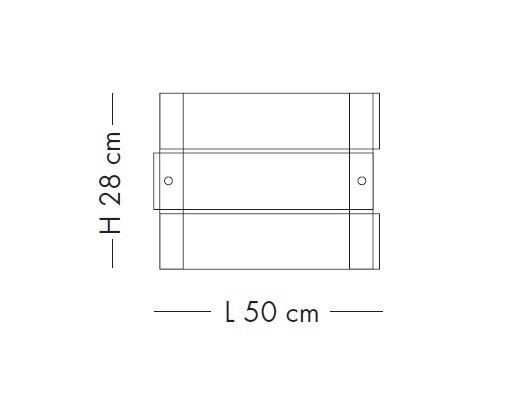 CRAZY LS 1037/50P satyna Plafon Lampade Italiane 50 cm