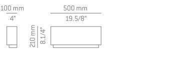 Estiluz LIBRA A-2810 Kinkiet