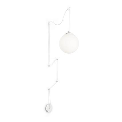Kinkiet Ideal Lux Boa SP1 Biały
