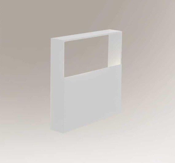 Kinkiet Ledowy Kwadratowy Shilo Nanto 7913 Biały
