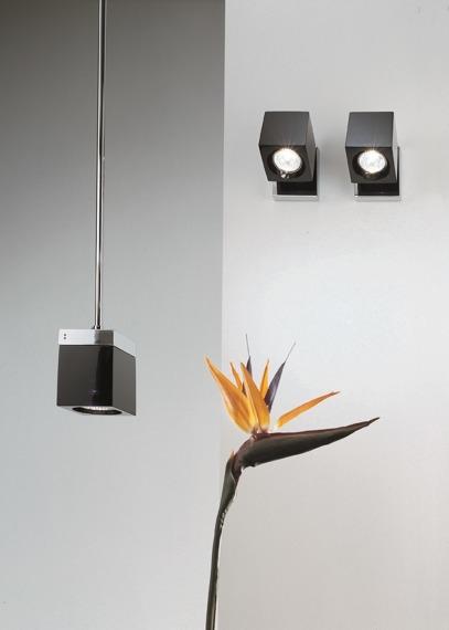 Lampa Fabbian CUBETTO BLACK D28 A01 02