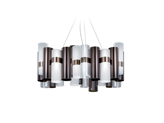 Lampa SLAMP La Lollo L Pewter White