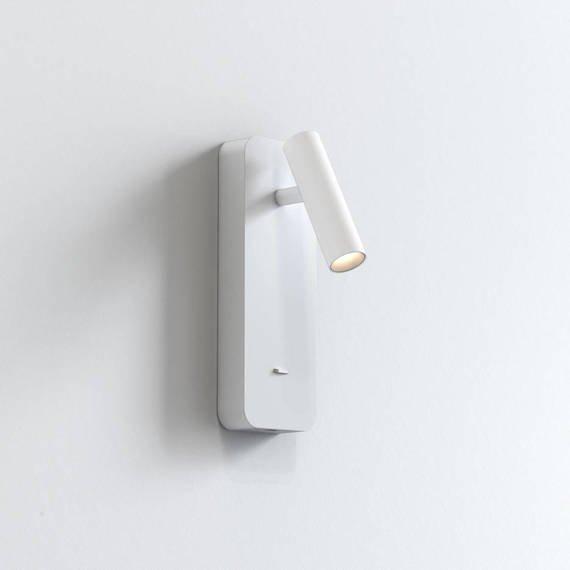 Lampa Ścienna Astro Enna Surface USB 1058154 Biały