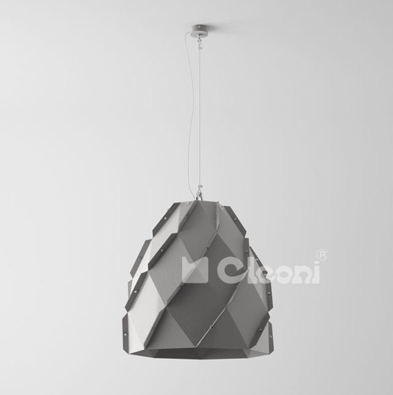 Lampa Wisząca Cleoni Sorex 1202A1E Biała
