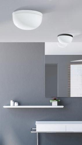 Lampa łazienkowa okrągła 28 cm Azzardo Kallisto w kolorze biały