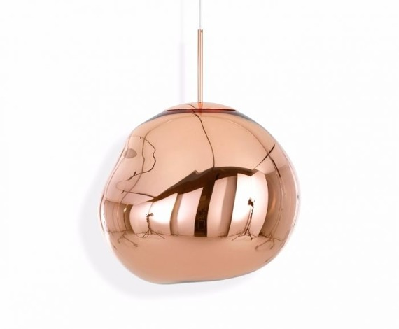 Lampa nowoczesna Tom Dixon Melt 50 Copper