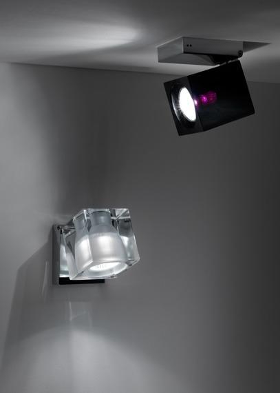 Lampa ścienna Fabbian CUBETTO BLACK D28 G03 02