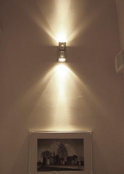 Lampa ścienna Fabbian CUBETTO CRYSTAL D28 D01 00