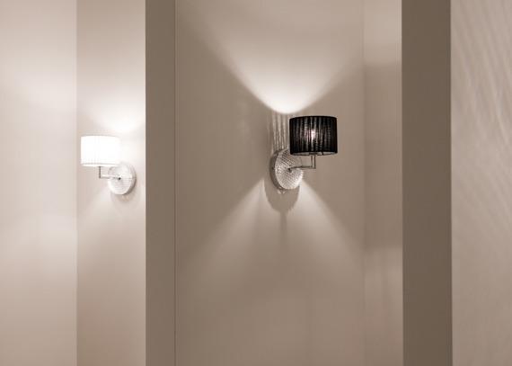 Lampa ścienna Fabbian DIAMOND Swirl D82 D01 02  black