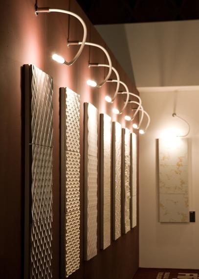 Lampa ścienna Fabbian SNAKE D63 G01 01 white