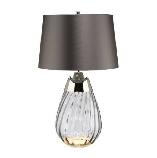 Lampa stołowa Elstead Lighting Lena LENA-TL-S-SMOKE