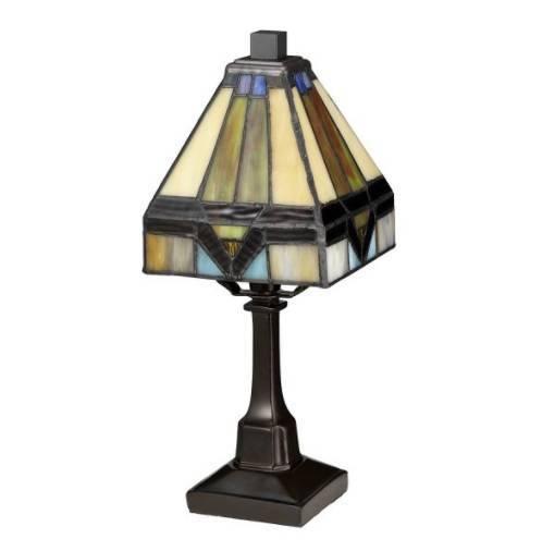 Lampa stołowa witraż Elstead Lighting Holmes QZ-HOLMES-TL