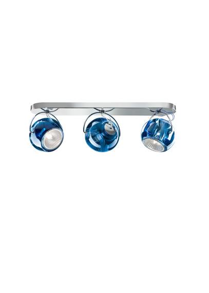 Lampa sufitowa Fabbian BELUGA COLOUR D57 G25 31 blue