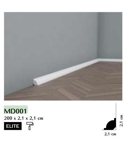 Listwa przypodłogowa Mardom MD001