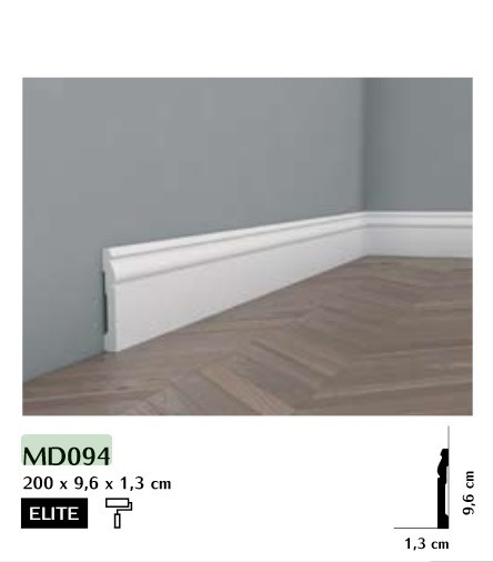 Listwa przypodłogowa Mardom MD094