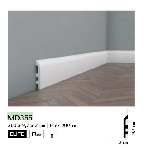 Listwa przypodłogowa Mardom MD355
