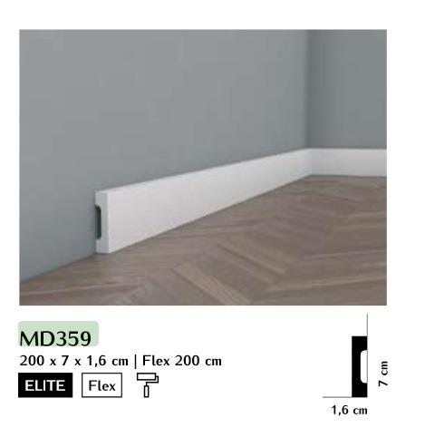 Listwa przypodłogowa Mardom MD359