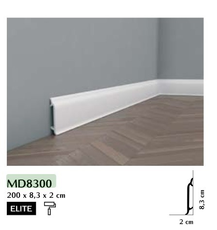 Listwa przypodłogowa Mardom MD8300