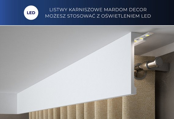Mardom Decor QL026 Listwa karniszowa