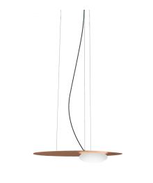 Nowoczesna lampa Axo Light Kwic 36 cm brązowa