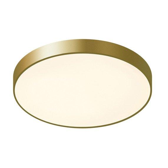 Nowoczesny złoty plafon LED Orbital 60 cm Italux
