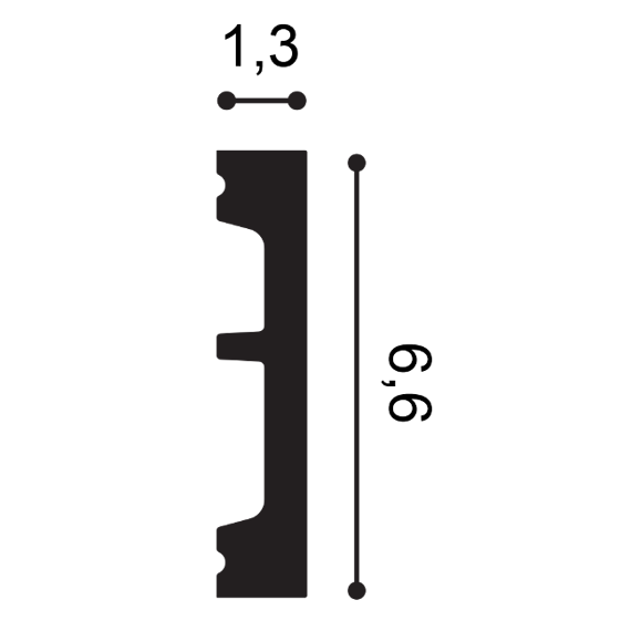 Obudowa drzwiowa Orac Decor SX157