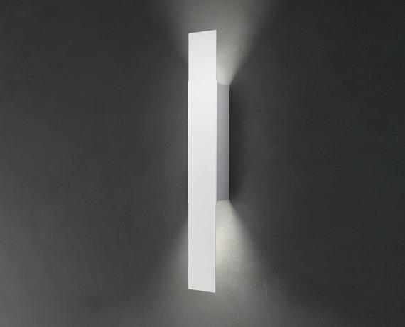 Opi P Lampa Ścienna biała Leucos