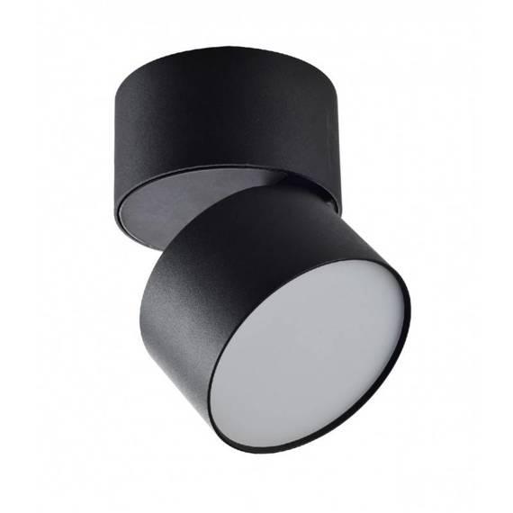 Oprawa Sufitowa Ledowa Berella Light Rotu 15W BK BL5199 w czarnym kolorze