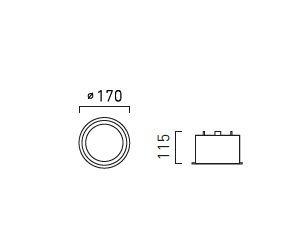Oprawa Wpuszczana Chors Fusion L111 NW biała
