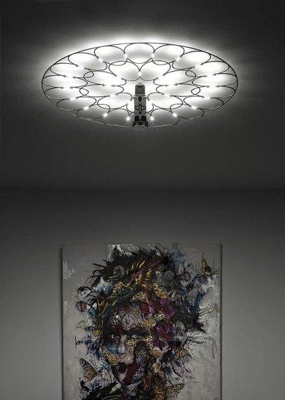 Plafoniera Sforzin Lafra 1735.21.3000 kolor czarny 45 cm
