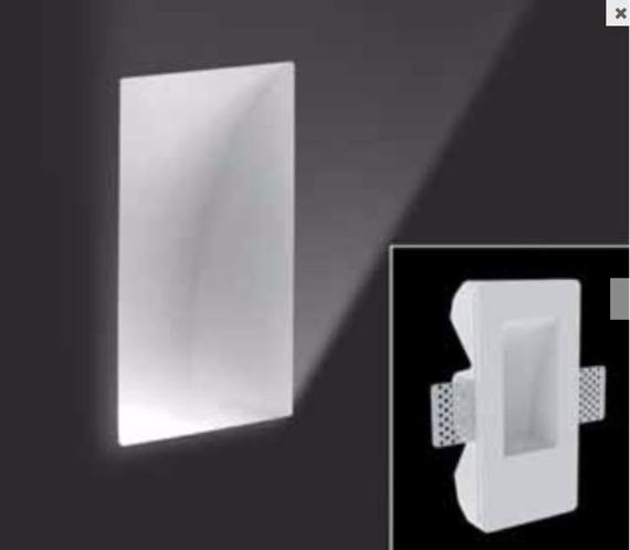 SD 084 N Oprawa Schodowa Leucos biała 17 x 8,5 cm LED