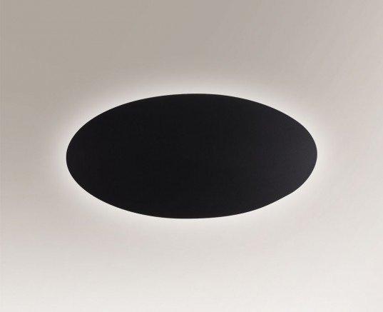 Suzu 4472 Shilo Czarny Lampa ścienna