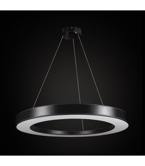 Tubus LED 67718 Żyrandol Ramko czarny