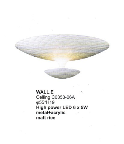 Wall.E C0353-06A Plafon Zuma Line