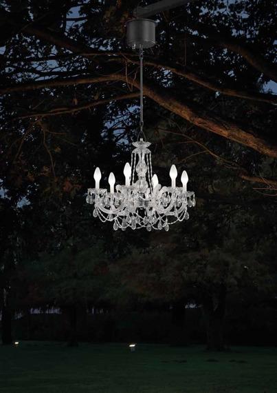Wisząca lampa zewnętrzna Masiero Drylight S6