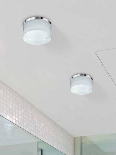Wpust łazienkowy Azzardo Linz LED 4000K IP44 AZ2775