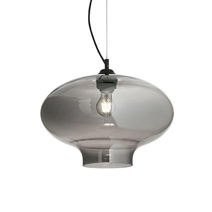 Zwis BISTRO SP1 ROUND 120904 srebrno szara Ideal Lux