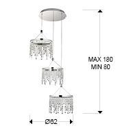 Zwis Schuller EAnastasia 568672 LED