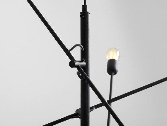 Żyrandol CustomForm Twigo 6 czarna