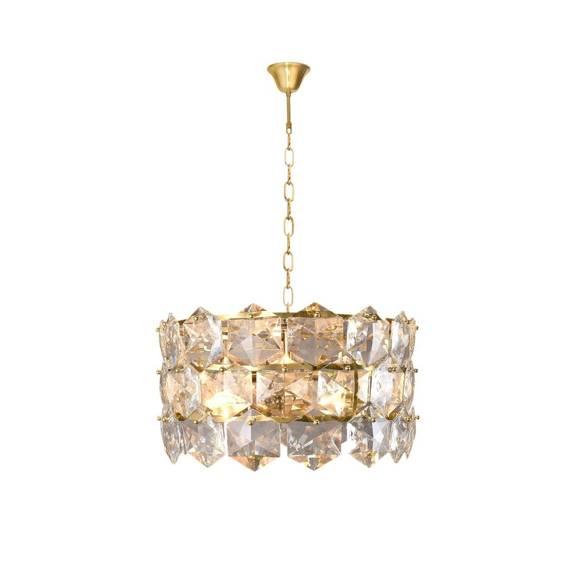 Żyrandol Milagro Diana ML5990 Złoty
