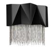Kinkiet Czarno Srebrny Elstead Lighting Zuma HK-ZUMA-3W-SBS